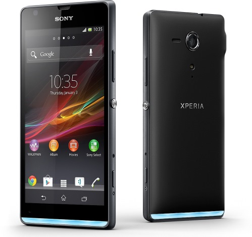 Sony анонсировала смартфоны Xperia L и Xperia SP