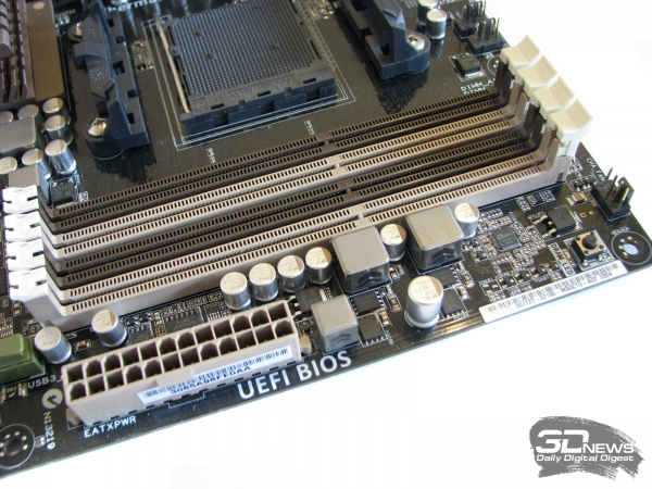ASUS Sabertooth 990FX DIMMs