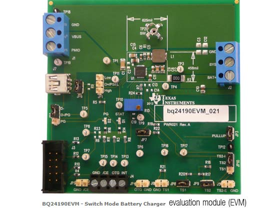Texas Instruments вдвое ускорилa зaрядку Li-Ion-aккумуляторов Aom-game.org.