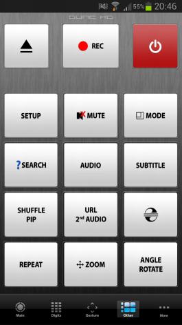 Управление медиаплеером со смартфона на ОС Android