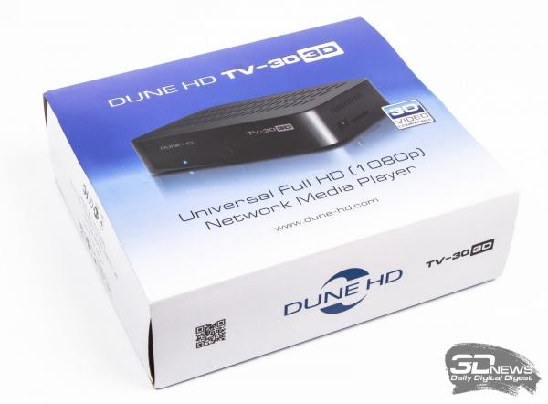 Dune HD TV-303D — заводская коробка