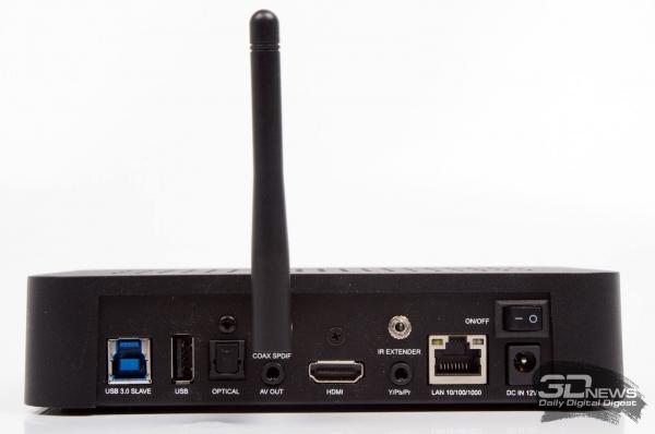 Dune HD TV-303D — задняя панель