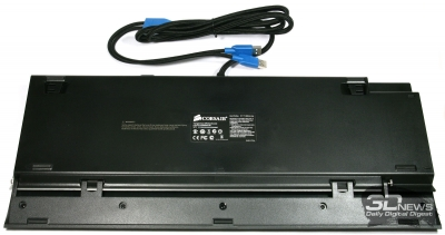Внешний вид клавиатуры Corsair Vengeance K90