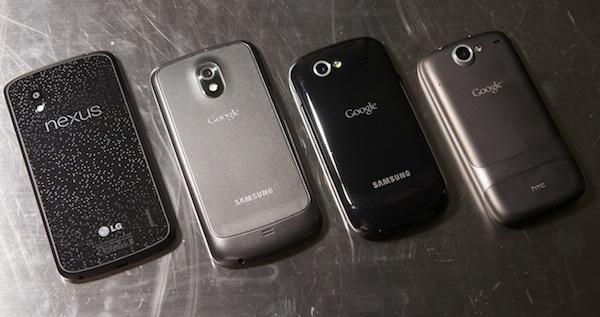 LG и Google готовят смартфон Nexus 5