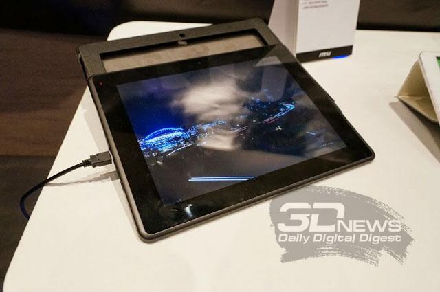 """Computex 2013: MSI Primo 93 — планшет с 9,7"""" IPS-дисплеем"""