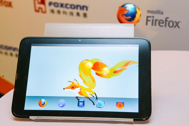 Mozilla и Foxconn продемонстрировали планшет на Firefox OS