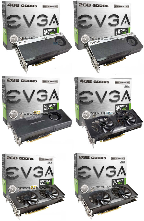 EVGA GeForce GTX 760