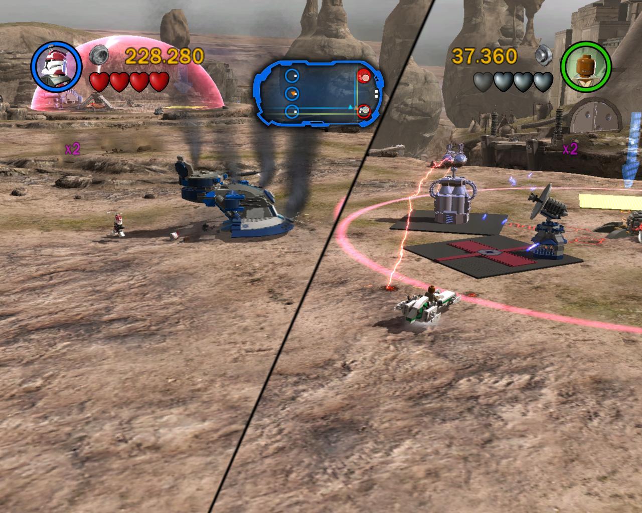 Игра Lego Star Wars Iii The Clone Wars На Двоих