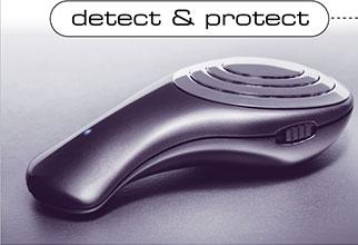 """Детектор  """"электронного смога """" обнаруживает излучения в полосе частот от 50 до 3000 МГц с напряженностью поля 0..."""