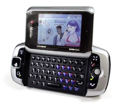 Sidekick 3 - телефон с трекболом от T-Mobile / Новости hardware