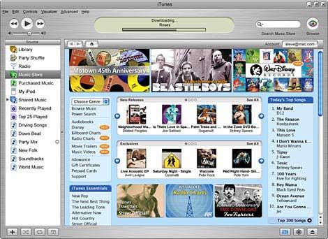 ����� ������������� iTunes