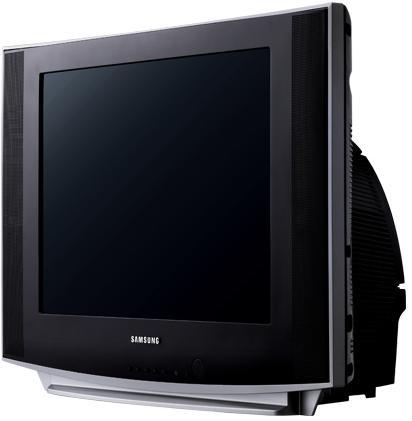 Тонкий ЭЛТ-телевизор Samsung: