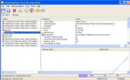Cobian Backup Предварительные Действия Закрыть Программу - фото 6
