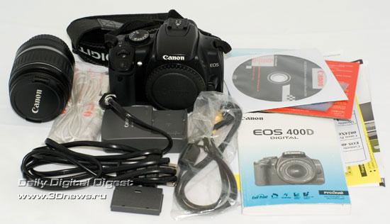 Canon Eos 400d инструкция на русском - фото 6