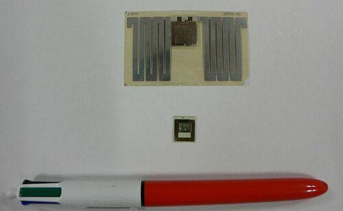 нтересна технология изготовления интегральных микросхем - изначально все элементы формируются на стеклянной подложке...