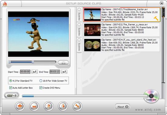 юбой фирменный DVD-диск содержит меню, при помощи которого можно запустить воспроизведение видео, выбрать эпизод...