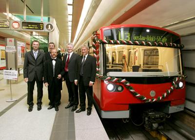 В Германии запущена первая роботизированная линия метро