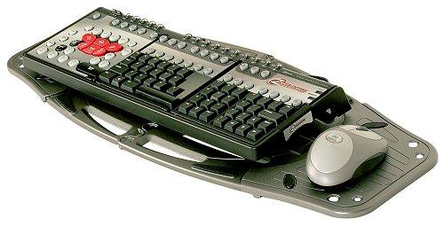Oklick Клавиатура + мышь Oklick 280M клав:черный мышь:черный USB беспроводная Multimedia