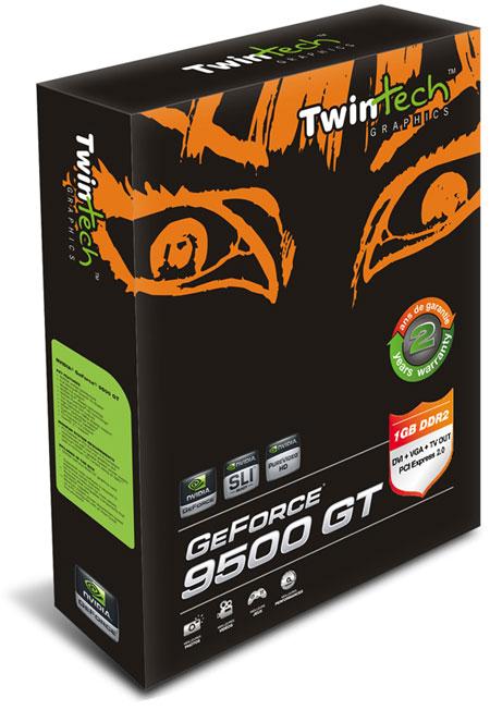 GeForce 9500 GT в трёх вариантах от TwinTech.