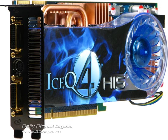 HIS Radeon HD 4850 IceQ 4 TurboX, вид сбоку
