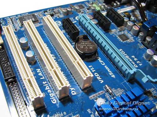 Gigabyte EP45-UD3R слоты расширения