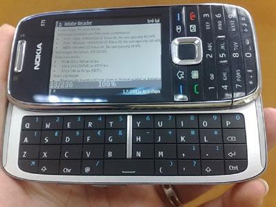 Смартфон Nokia E75 вновь позирует до анонса / Новости hardware ...