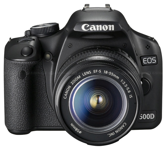 Тест Canon EOS 500D от DPReview