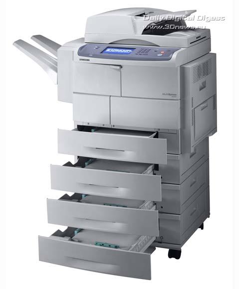 МФУ Samsung SCX-6555N: для больших объемов печати.