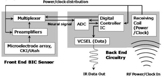 BrainGate - блок-схема