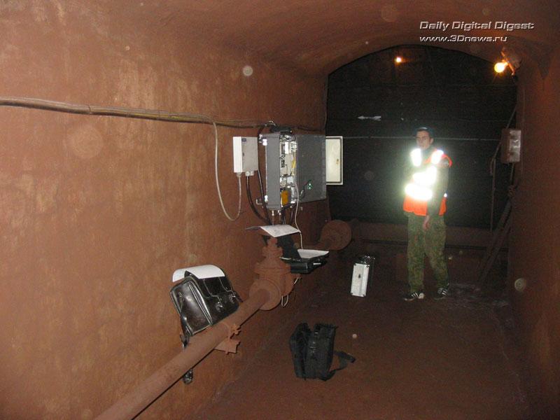 связи в тоннелях метро.