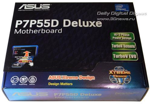 ASUS P7P55D Deluxe упаковка