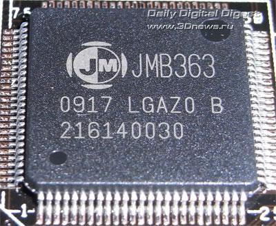 ASUS P7P55D Deluxe SATA-контроллер 1