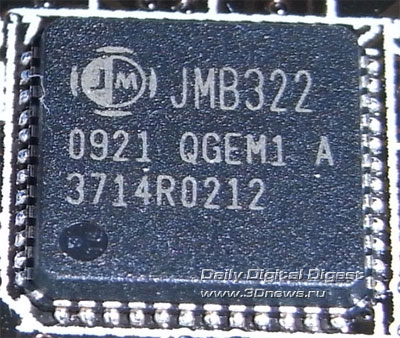 ASUS P7P55D Deluxe SATA-контроллер 2