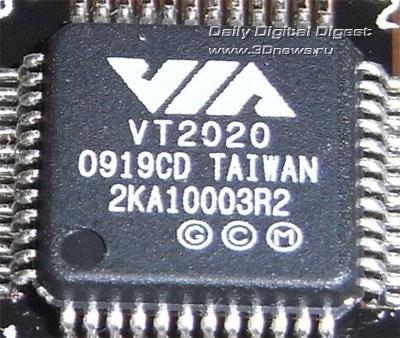 ASUS P7P55D Deluxe звуковой контроллер