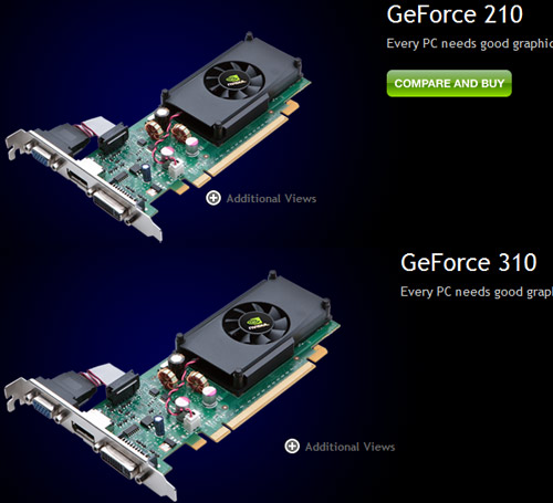 GeForce 210 310