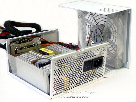 Вентилятор подключен в схему