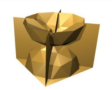 Перспективная форма 3D-панели