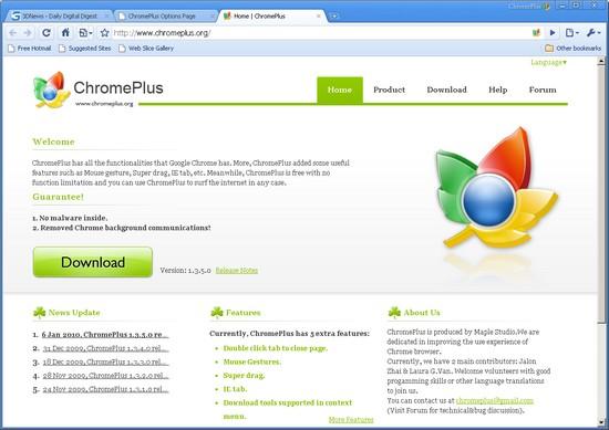 Chromeplus скачать бесплатно img-1