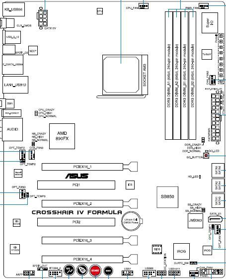 ASUS Crosshair IV схема
