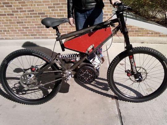 Доработка горного велосипеда своими руками 33