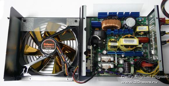 Электрическая схема БП