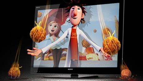ЖК телевизоры Sony 3D плазменные