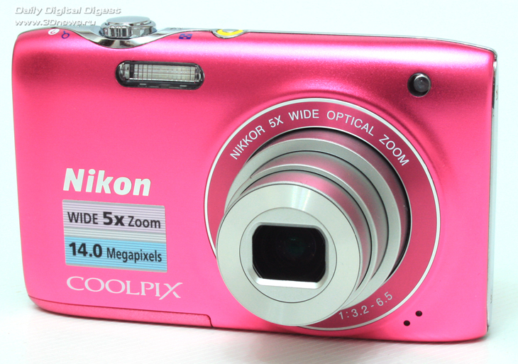 Nikon Coolpix S3100 — недорогая стильная камера / Цифровое фото и видео / 3DNews - Daily Digital Digest