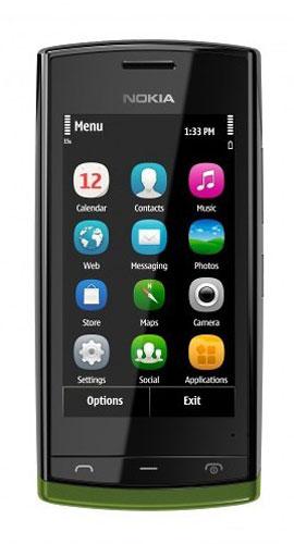 Анонсирован Symbian-смартфон Nokia 500 с 1-ГГц процессором ...