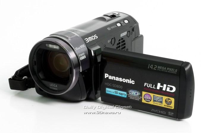 Ferra.ru - Обзор видеокамеры Panasonic HDC-SD800. Профессиональные возможности в любительском классе