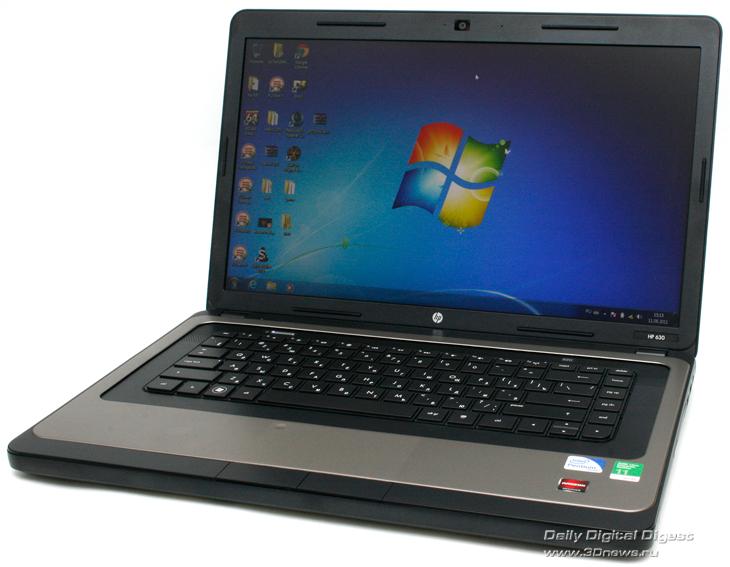 Ноутбук оборудован дискретной