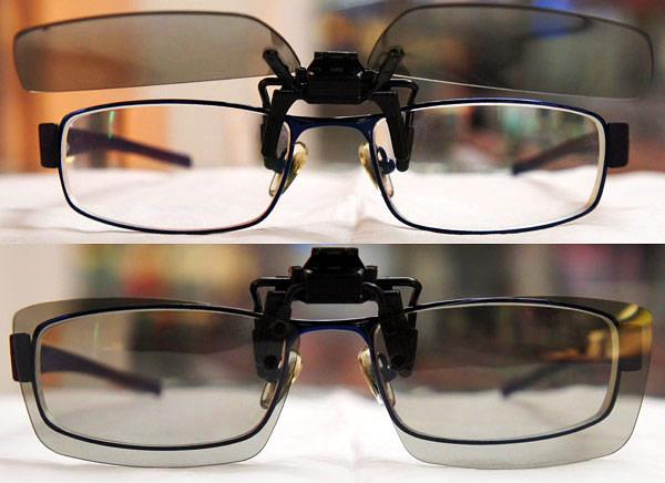 Поляризационные накладки на очки lg ag
