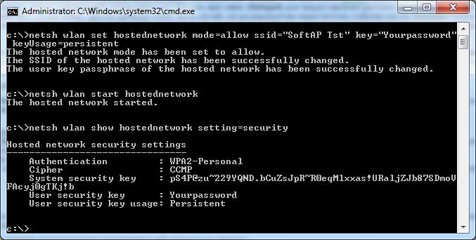 Как сделать точку доступа wifi из своего компьютера на windows 7