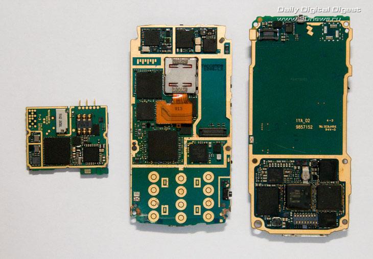Nokia 6700, N95 и N70