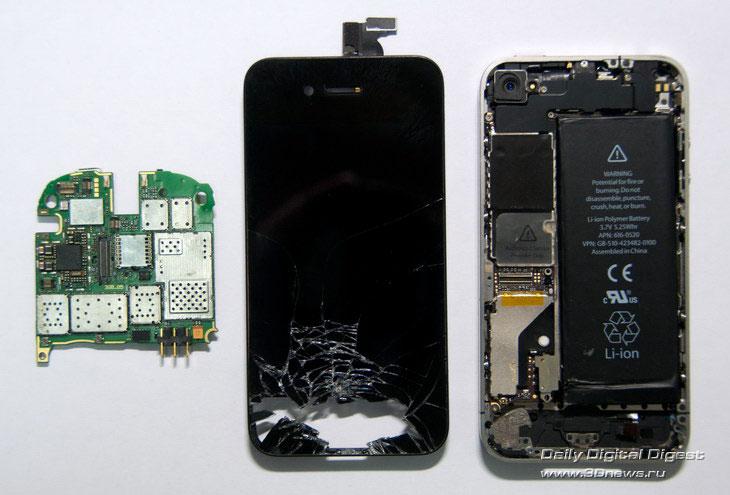 компоновки iPhone 4 даст